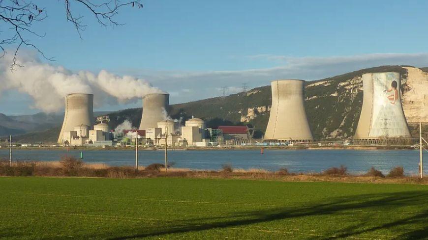 La centrale nucléaire de Cruas Meysse en Ardèche