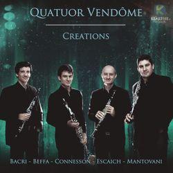 Feux d'artifice : 1. Avec swing - pour quatuor de clarinettes - FRANK AMET