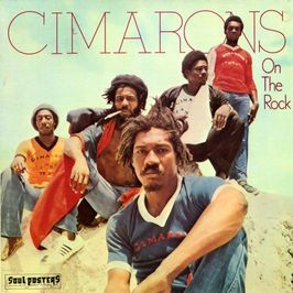 "Pochette de l'album ""On the rock"" par Cimarons"
