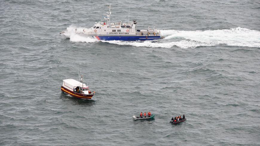 11 migrants ont été secourus ce dimanche matin au large de Boulogne-sur-Mer