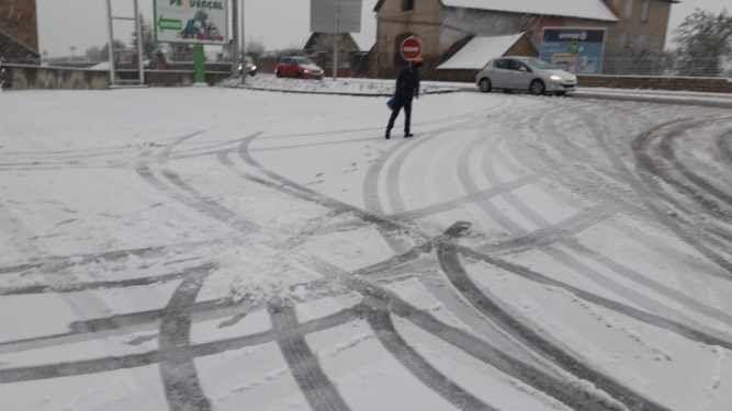 Premier manteau de neige ce jeudi en Lozère
