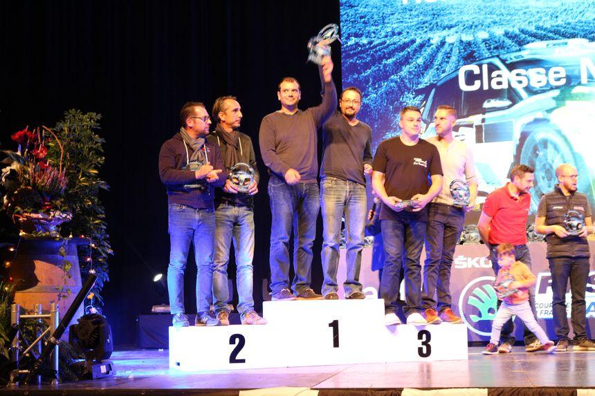 Anthony Ulbert et Florent Liraud sur le podium