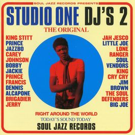 """Pochette de l'album """"Studio One DJ's 2"""" par Prince Jazzbo"""