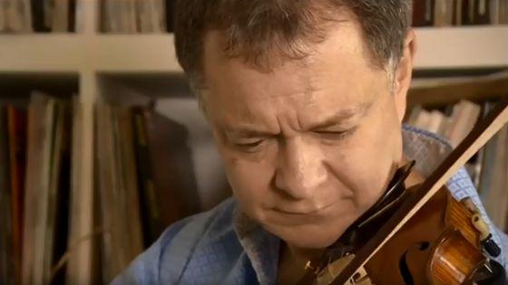 Le violoniste Stephen Morris a retrouvé son instrument, oublié dans un train