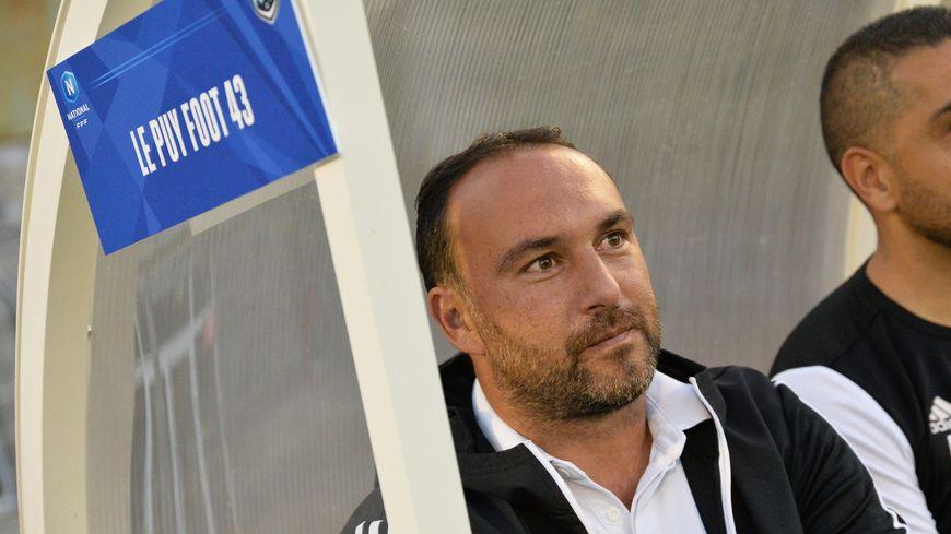 Roland Viera, l'entraineur du Puy Foot 43