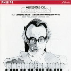 Fantaisie chromatique et fugue en ré min BWV 903 - pour piano - ALFRED BRENDEL