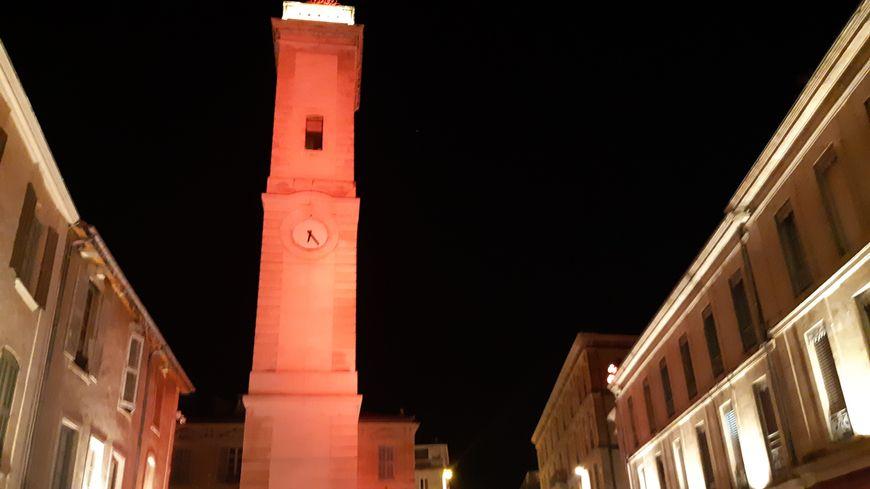 La Tour de l'Horloge à Nîmes
