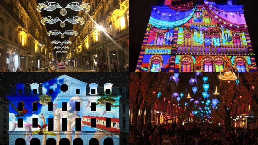 Trente-six installations sont proposées lors de l'édition 2019 de la Fête des Lumières