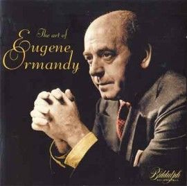 """Disque """"The art of Eugene Ormandy"""""""