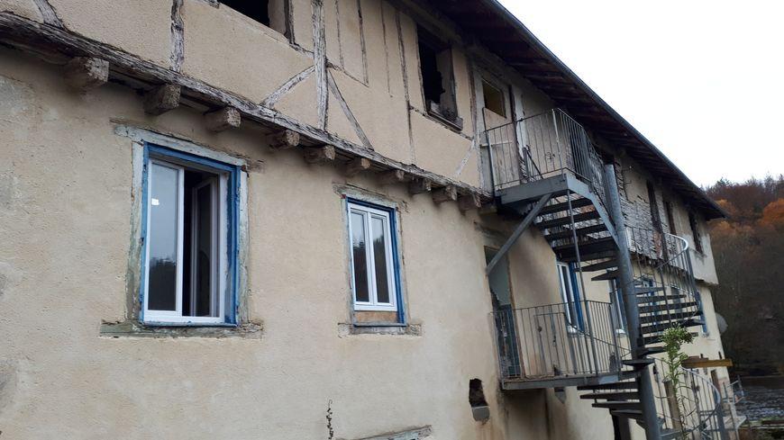 Le bâtiment d'Emmaüs qui va entièrement être réhabilité