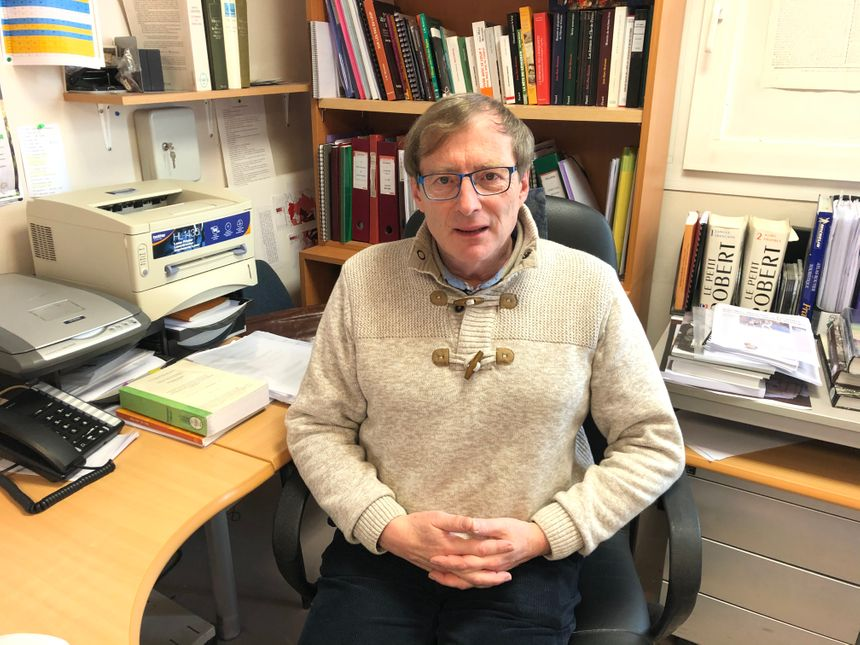 L'historien Jean-Marc Moriceau, spécialiste du loup en Normandie