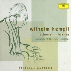 6 Klavierstücke op 118 : Intermezzo en Fa Maj op 118 n°5 - WILHELM KEMPFF