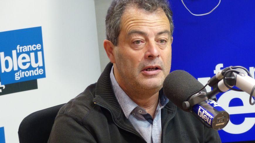 Daniel Barbe, maire de Blasimon et président de l'association des maires ruraux de Gironde