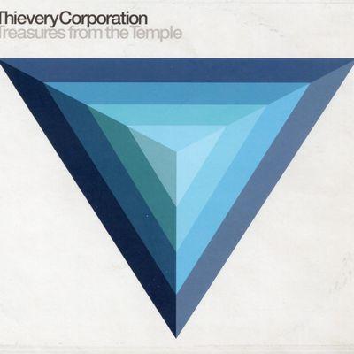 """Pochette de l'album """"Treasures from the Temple"""" par Thievery Corporation"""