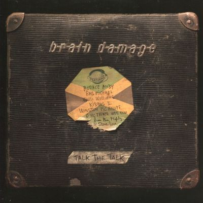 "Pochette de l'album ""Talk the talk"" par Brain Damage"