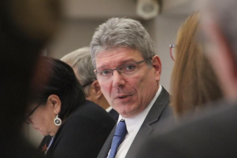 Bruno Faure, pdt du Conseil Départemental du Cantal.