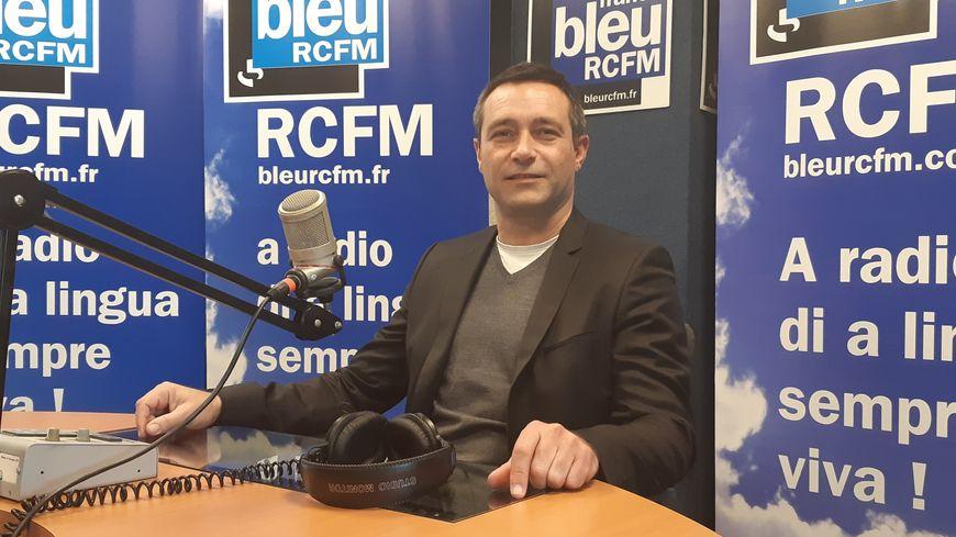 Jean-François Casalta, candidat Pà Aiacciu aux municipales de mars 2020 à Ajaccio