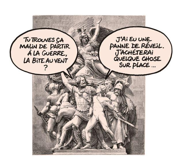 "Dessin tiré de ""La Rumba du Chat"" de Philippe Geluck"