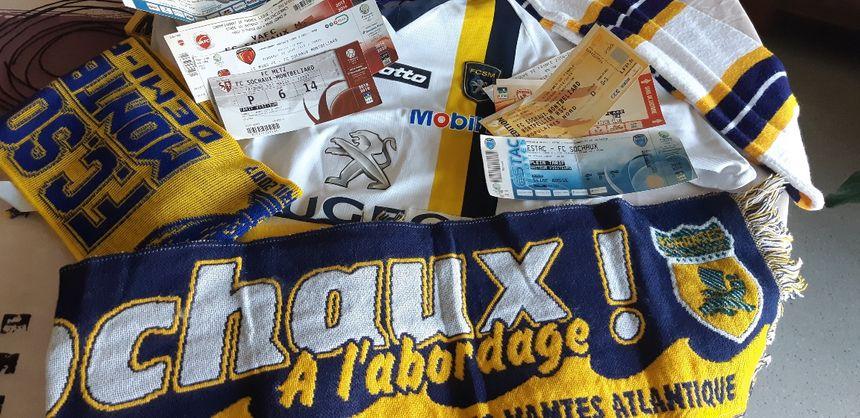 L'amour de Raymonde pour Sochaux va du maillot au ticket, en passant par les écharpes