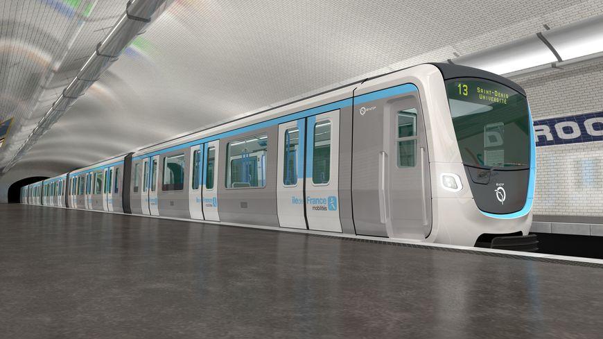 les nouveaux trains MF 19
