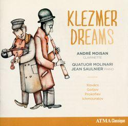 Ouverture sur des thèmes juifs op 34 - pour clarinette cordes et piano - ANDRE MOISAN