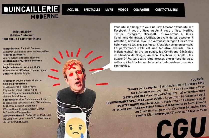"""Benjamin Villemagne de la """"Quincaillerie Moderne"""" pour """"CGU"""""""