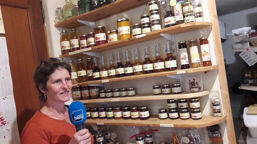 Cécile Steinbach pour Bio des coteaux à Durfort-Lacapelette dans le Tarn et Garonne
