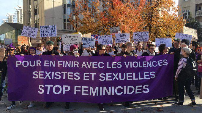 La deuxième édition de la Marche contre les violences faites aux femmes a mobilisé plusieurs dizaines de milliers de personnes partout en France dont 300 au Mans.