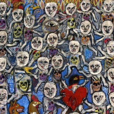 """Pochette de l'album """"The constant"""" par Resonators"""