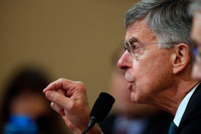 Le chargé d'affaires américain en Ukraine William Taylor a fait une déposition clé devant la commision