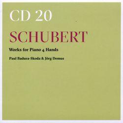 Marche caractéristique pour piano à 4 mains op posth 121 D 968b n°2 - PAUL BADURA-SKODA