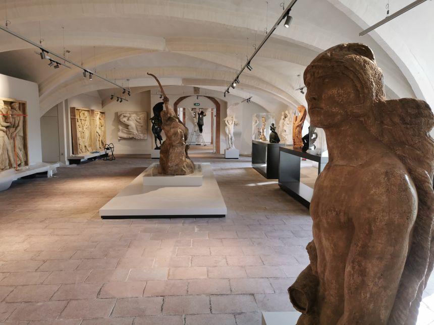 Un étage entier est désormais dédié au sculpteur Bourdelle