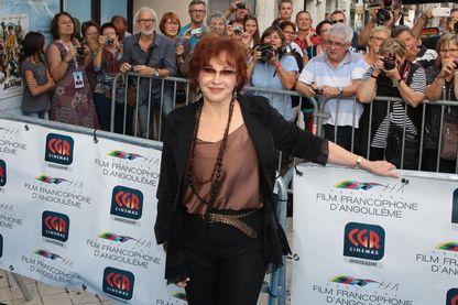 L'actrice, romancière et conteuse pour enfants, Marlène Jobert au Festival du film francophone d'Angoulême.