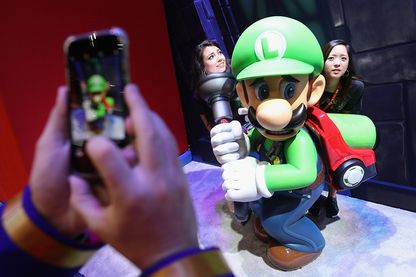 "¨Présentation de ""Luigi's Mansion 3"" au E3 Video Game Convention en juin 2019 à Los Angeles"