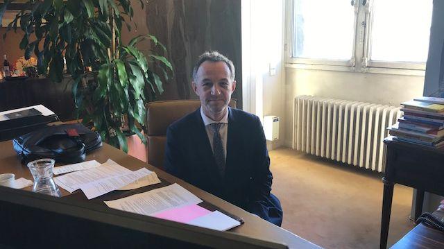 Emmanuel Grégoire, premier adjoint à la ville de Paris