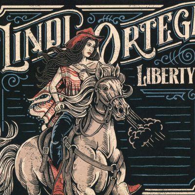 "Pochette de l'album ""Liberty"" par Lindi Ortega"