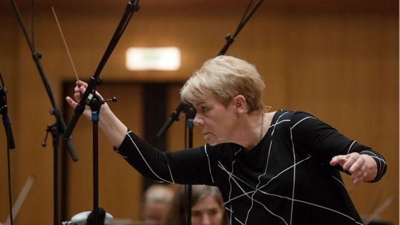 Marin Alsop, directrice musicale de l'Orchestre symphonique de la radio de Vienne