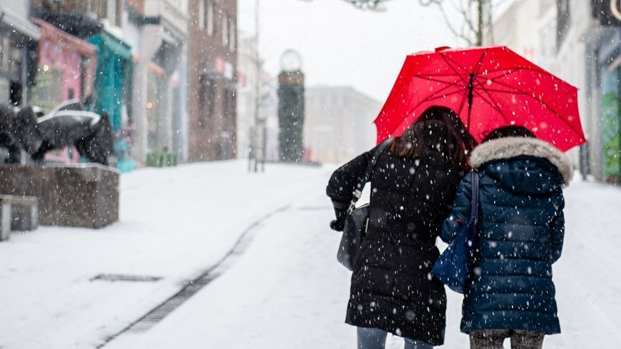 Les chutes de neige en plaine se produiront sur certains départements.