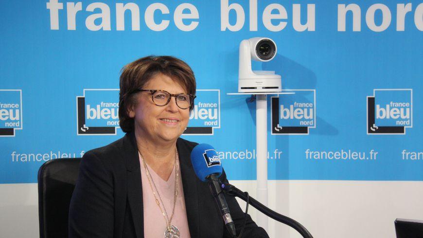 Martine Aubry , candidate à sa succession à Lille, en direct ce vendredi matin sur France Bleu Nord