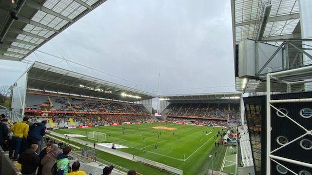 A Bollaert, le FCSM était soutenu en nombre par les Parigots de Sochaux et le Supporter Club