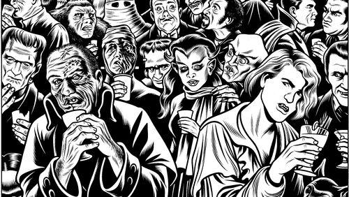 Cauchemars charnels : Charles Burns, Charles Forsman, Anne van der Linden, David Prudhomme