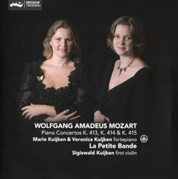 Concerto n°11 en Fa Maj K 413 : 2. Larghetto - version pour piano et quatuor à cordes avec contrebasse - MARIE KUIJKEN