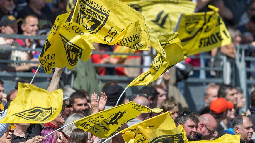Joie des supporter de La Rochelle après une victoire face à Castres