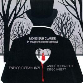 """Pochette de l'album """"Monsieur Claude"""" par Enrico Pieranunzi"""
