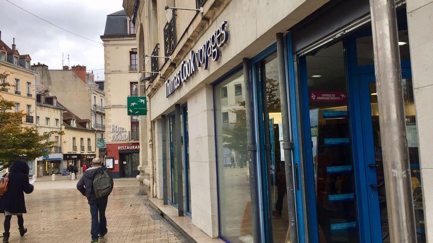 L'agence Thomas Cook à Dijon