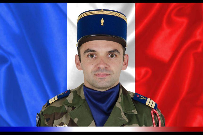 Capitaine Benjamin Gireud du 5e Régiment d'hélicoptères de combat de Pau
