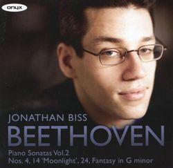 2 sonates op 27 : Sonate n°14 en ut dièse min op 27 n°2 ( Quasi una fantasia ) : Presto agitato - JONATHAN BISS
