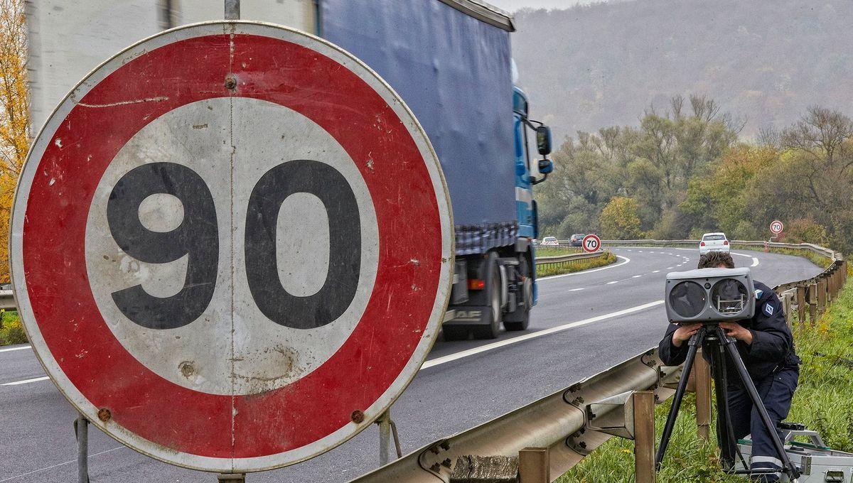 Bas-Rhin : il roulait à 164 km/h au lieu de 90 km/h