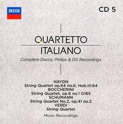 Quatuor à cordes en mi min : Andantino - QUARTETTO ITALIANO