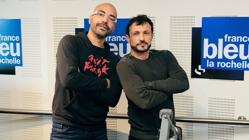 Willy Rovelli avec Eric Morgane